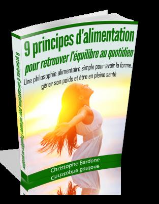 ''9 Principes d'Alimentation'' par Christophe Bardone