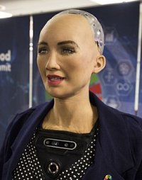Sofia robot humanoïde